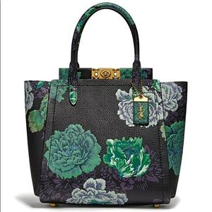 NWT Troupe Tote With Kaffe Fassett Print
